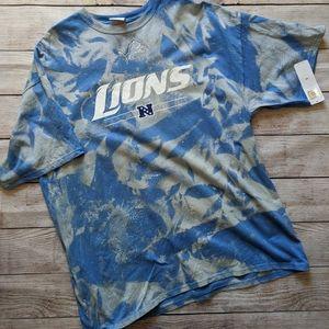 Custom Dye Detroit Lions T-shirt 2XL